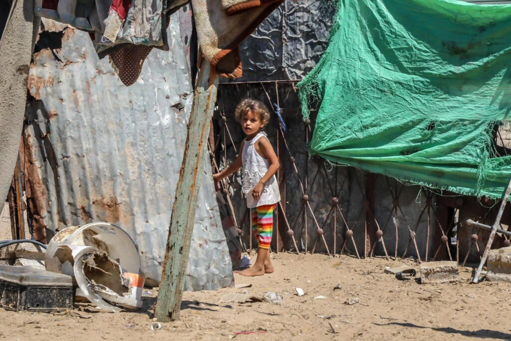 Gaza is in the midst of a humanitarian catastrophe.